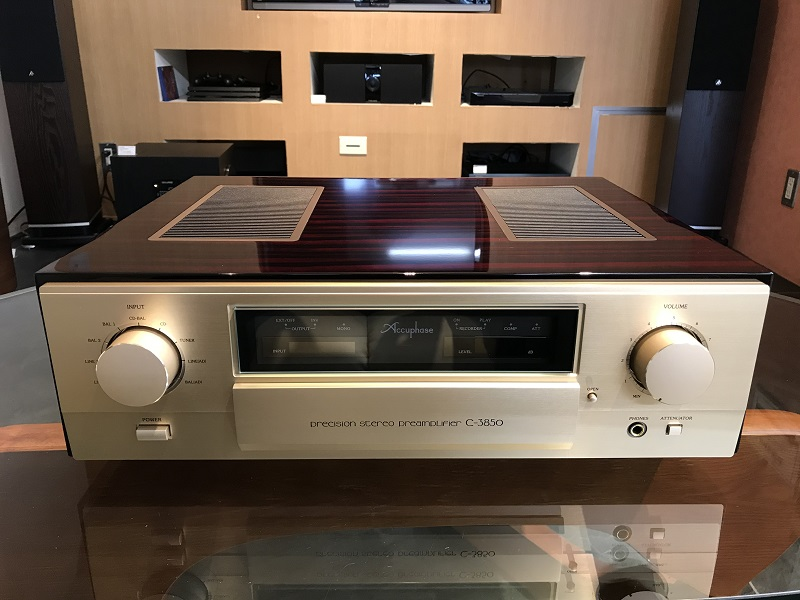 Accuphase アキュフェーズ C-3850 プリアンプ 展示処分品