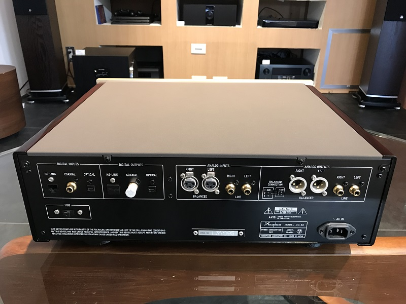 Accuphase アキュフェーズ DG-58 ヴォイシング・イコライザー 展示処分品